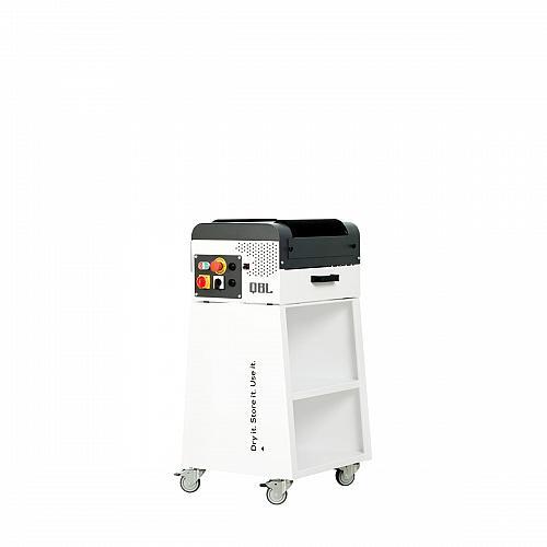 Wax-polish machine